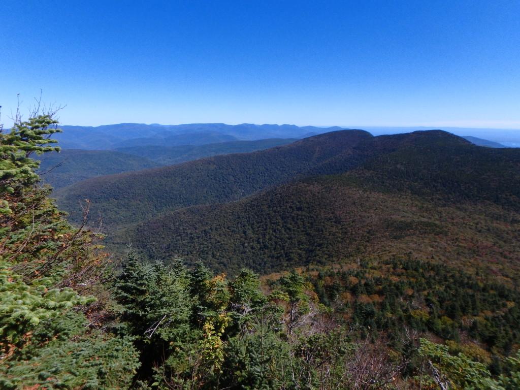 View from Slide Mountain September