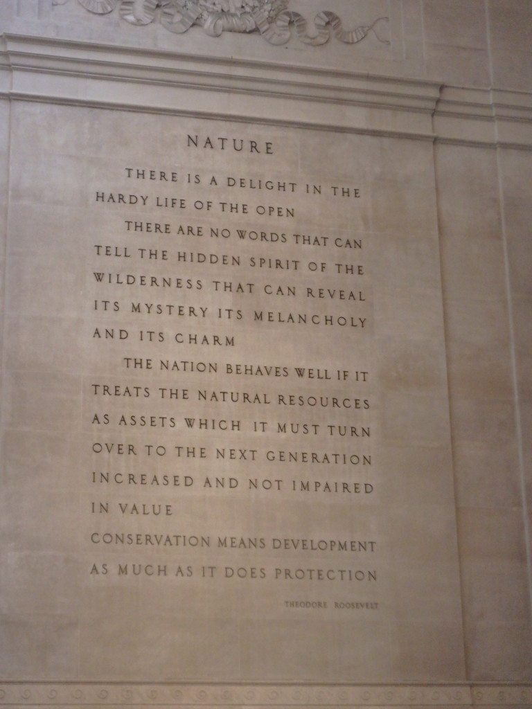 Roosevelt on Nature